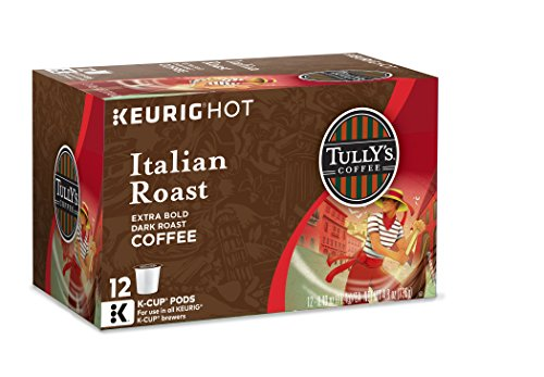 Tully's Coffee Italian Roast, Keurig K-Cups, 72 Count (Italian Roast K Cups Coffee compare prices)