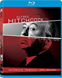 Alfred Hitchcock: The Classic Collection Notorious / Rebecca / Spellbound [Blu-ray]