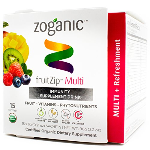 Zoganic fruitZip (15, Multi) (Energy Drinks Red Line compare prices)