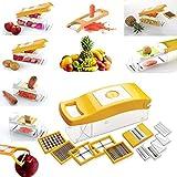 12 In 1 Fruit & Vegetable Graters, Slicer, Chipser, Dicer, Cutter Chopper