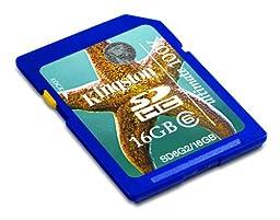Kingston Digital, Inc. 16 GB Flash Memory Card SDG2/16GB