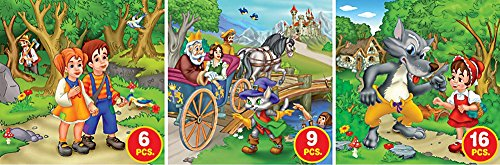 D-Toys Fairy Tales - Series 2 Jigsaw Puzzle, Variable Piece Count