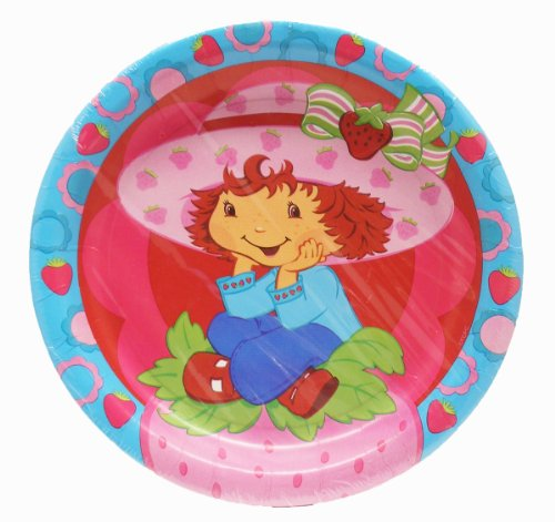 Strawberry Shortcake Best Friends Party Lunch Plates
