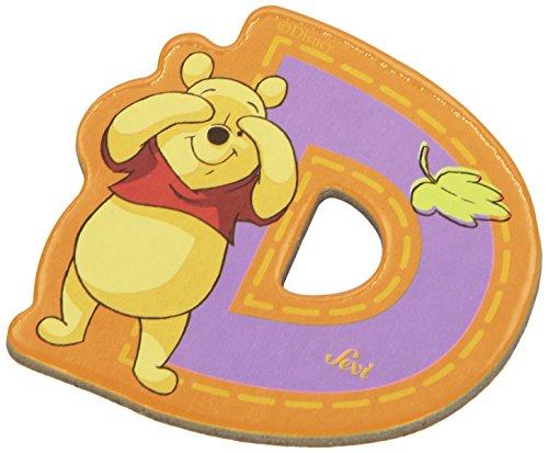 Sevi 82762 Klebebuchstabe D Winnie the Pooh
