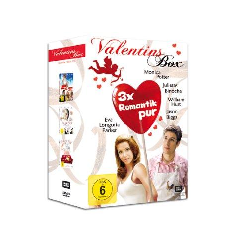 Valentinsbox (Romantik pur zum Valentinstag, 3er DVD-Box mit Star Besetzung)