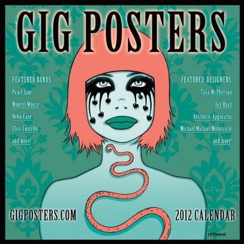 Gig Posters 2012 Wall Calendar