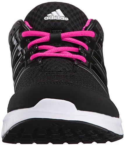 Adidas Performance Women's Galaxy Elite W Women's Running Shoe,Black/Black/Shock Pink,7.5 M US