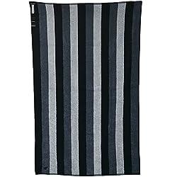 Emporio Armani EA7 telo mare asciugamano uomo originale stripe blu