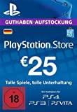 PlayStation Network Card - 25 EUR (für deutsche PSN-Konten) [PSN Code]