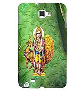 Fuson Premium Saranam Ayyappa Printed Hard Plastic Back Case Cover for Samsung Galaxy Note 1 i9220 N7000