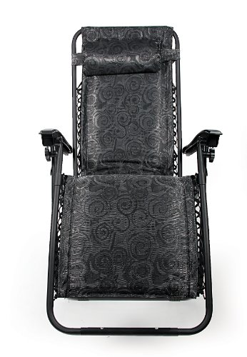 Gt Gt Gt Sale Camco 51820 Zero Gravity Padded Recliner Black