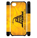 3D Dont Tread On Me Best Custom Cell Phone Case Cover for iPhone 5, iPhone 5S at Amazon.com