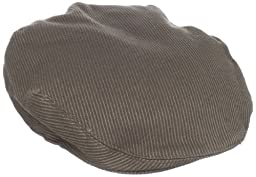 Fred Perry Men\'s Twill Cord Flat Cap, Thorn, One Size