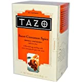 Tazo Teas, Sweet Cinnamon Spice, Herbal Infusion, Caffeine Free, 20 Filterbags, 1.5 oz (45 g)