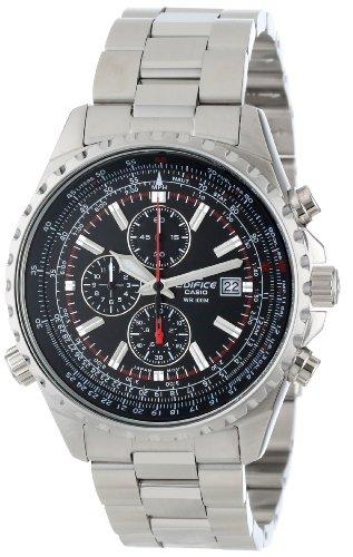 CASIO卡西欧 EF527D-1AV EDIFICE系列 男款三眼计时手表