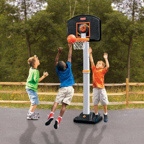 Grow To Pro Basketball Fisher Price Basketball Hoop