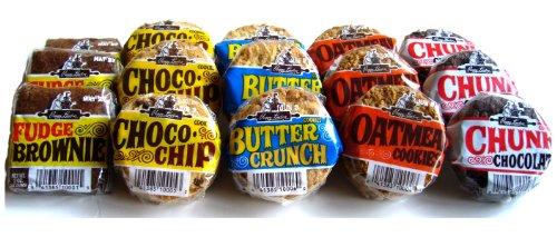 Peggy Lawton - Assortment Pack - Brownie & 4 Types Of Cookies - 36 Cookies & 3 Brownies
