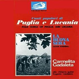 Amazon.com: Canti popolari di Puglia e Lucania - La buona sera: Folk