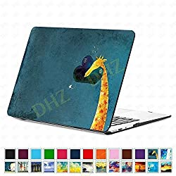 DHZ Apple MacBook Pro 15 Retina Case (NO CD-ROM Drive) - Cute Giraffe Plastic Hard Shell Cover For 15.4