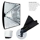 "LimoStudio 700W Photography Softbox Light Lighting Kit Photo Equipment Soft Studio Light Softbox 24""X24"", AGG814"