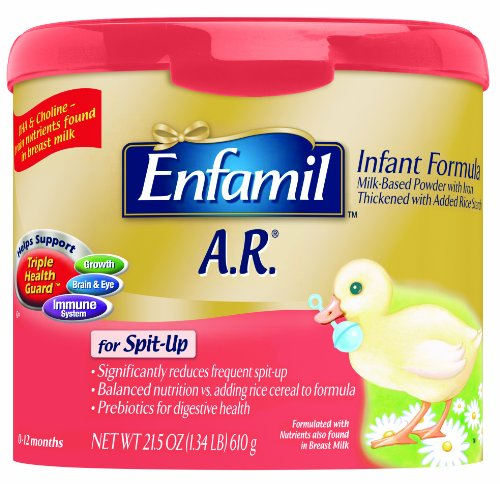 Enfamil A.R. Infant Formula for Spit-up, For Babies 0-12 Months, 22.2-ounce