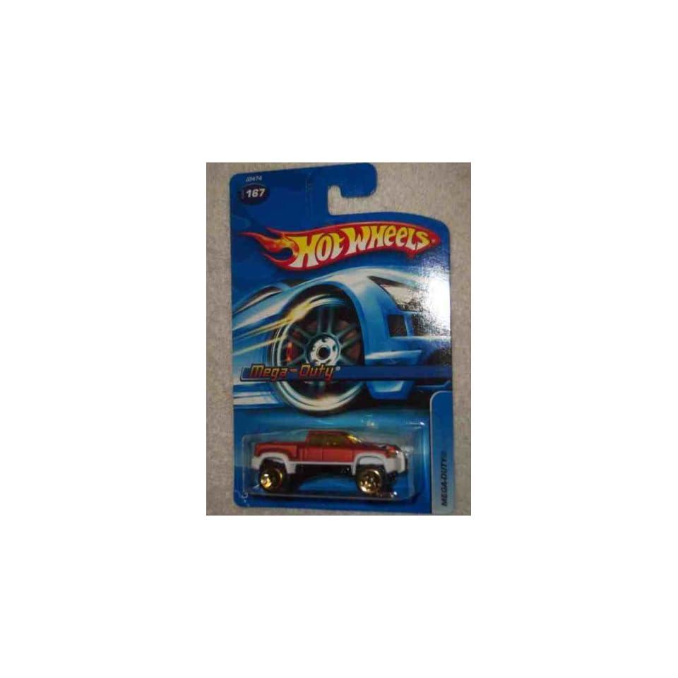 #2006 167 Mega Duty 5 Spoke Construction Wheels Collectible Collector Car Mattel Hot Wheels 164 Scale