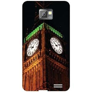 Samsung Galaxy S2 Watch Clock Matte Finish Phone Cover - Matte Finish Phone Cover