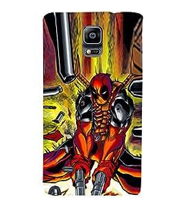 EPICCASE Action hero Mobile Back Case Cover For Samsung Galaxy Note Edge (Designer Case)