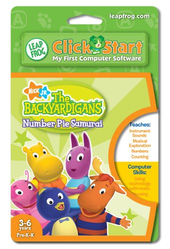 Leapfrog Clickstart Educational Software: Backyardigans: Number Pie Samurai