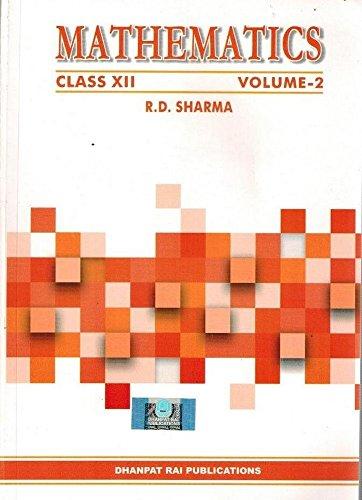 RD SHARMA CLASS 12 PDF DOWNLOAD