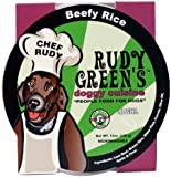 Rudy Greens Doggy Cuisine Beefy Rice, 12-Ounce Units (Pack of 8)