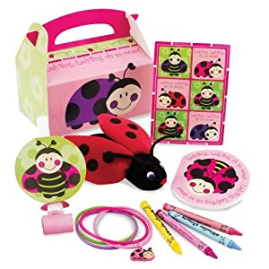 Click to buy LadyBugs: Oh So Sweet Party Favor Box Party Suppliesfrom Amazon!