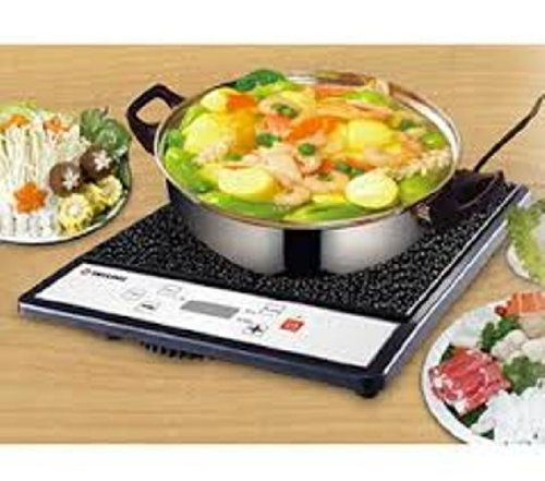 TATUNG 1500W Induction Cooker TICT-1502MW, Black (Cooking Pot included)