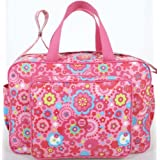 Tuc Tuc Pink Print Kids Travel Bag. Baby Diaper Bag. Chip Chip Collection.