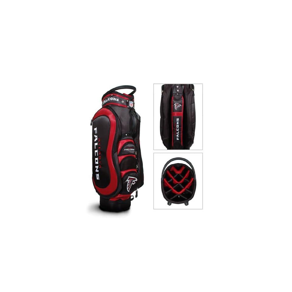 "Atlanta Falcons Nfl Cart Bag   14 Way Medalist""  Sports Fan Golf Club Bags  Sports & Outdoors"
