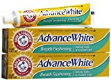 Arm and Hammer Advance White Fluoride Anticavity Toothpaste, Brilliant Sparkle - 6 Oz