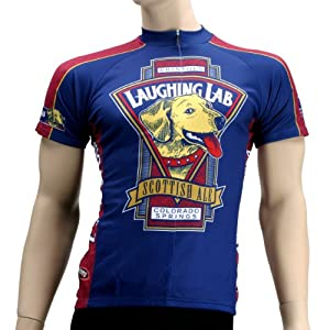 Buy Primal Wear Mens Bristol Laughing Lab Scottish Ale Beer Short Sleeve Cycling Jersey - BRLLJ20M (L) by Primal