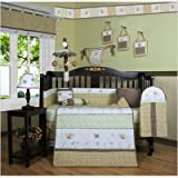 GEENNY Bumble Bee 13PCS CRIB BEDDING SET