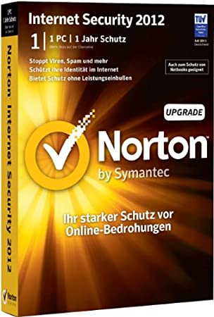 Norton Internet Security 2012 - 1 PC - Upgrade