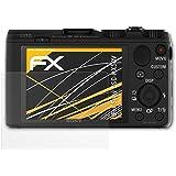 3 x atFoliX Schutzfolie Sony DSC-HX50V Folie Displayschutzfolie - FX-Antireflex blendfrei
