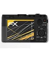 3 x atFoliX Film Protection d'Écran Sony DSC-HX50V - FX-Antireflex anti-reflet
