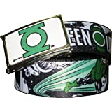 Comic Strip Green Lantern Printed Web Belt w/Buckleby DC