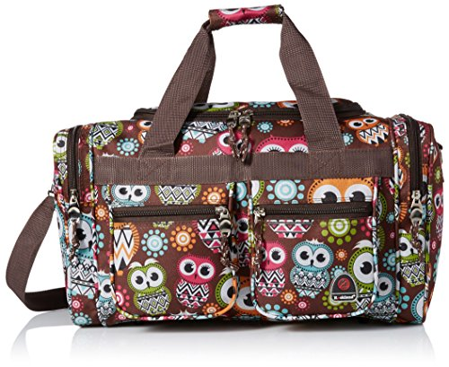 rockland-ptb419-owl-19-inch-tote-bag-owl-one-size