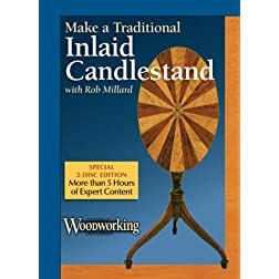 Making A Federal-Period Inlaid Candlestand