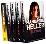 Mandasue Heller Mandasue Heller Collection 5 Books Set Pack RRP: £ 34.95 (The Front, Forget me not, The Game, The Charmer, Snatched)