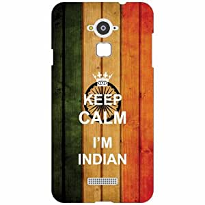 Coolpad Note 3 Back Cover - Silicon Keep Calm Designer Cases