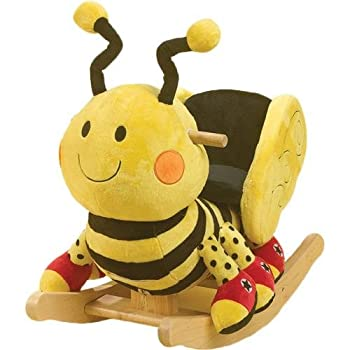 RockAbye Buzzy Bee Rocker Multi OS -Kids by Rockabye