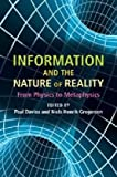 Image of Information and the Nature of Reality: From Physics to Metaphysics