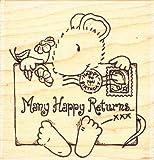 Happy Art Stempel Monty Renditen Stempel