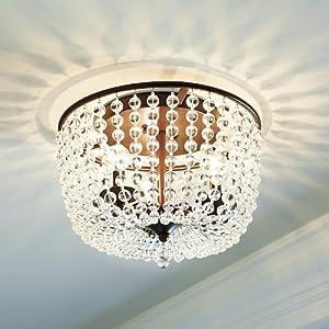Margeaux Ceiling Mount Chandelier - Ballard Designs